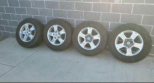 "Toyota Tundra 18"" rims P265/65R18 Tires Toyota Tundra Rims set of 4 for Sale in Glendora, CA"