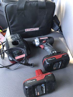 Craftsman C3 impact driver.....19.2 Volt........ for Sale in Sacramento, CA