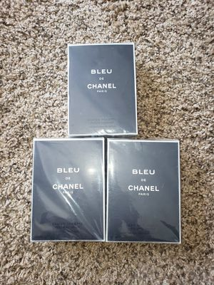 Bleu De Chanel for men 5oz for Sale in Riverside, CA