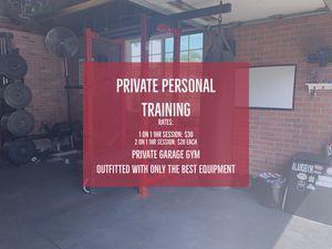 Personal Training - Private Garage Gym for Sale in Montebello, CA