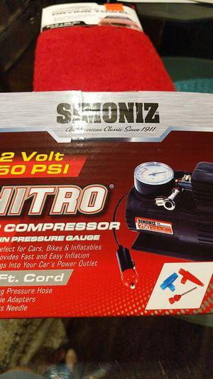12Volt Simoniz Air Compressor for Sale in Aspen Hill, MD