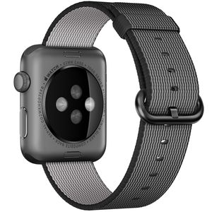 Apple Watch Band Woven Nylon Black 42mm for Sale in Plymouth, MN