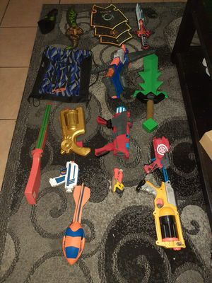 Nerf guns& bow and arrow for Sale in Paramount, CA