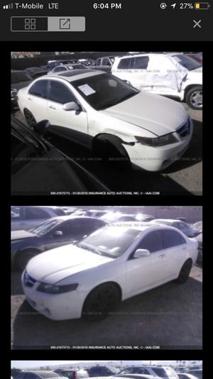 2004 Acura TSX parting out!!! Parts only!!! for Sale in Phoenix, AZ