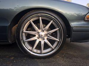 """20"""" Asanti ABL-05 rims and tires for Sale in Orlando, FL"""