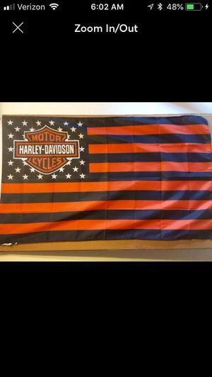 Harley Davidson 3x5ft banners 18.00 each or 2 for 30.00 for Sale in Jacksonville, FL