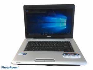 Toshiba Satellite L455 Intel Pentium Dual-Core T4400 2.2GHz 250GB 4GB Windows 10 for Sale in Auburn, WA