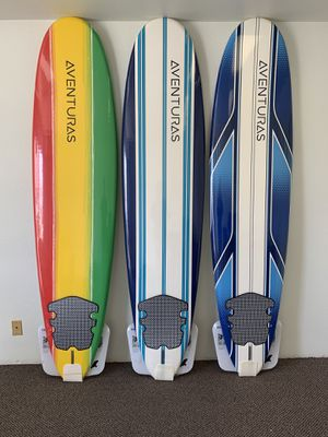 8' Aventuras Foam Soft Top Surfboards for Sale in Glendora, CA