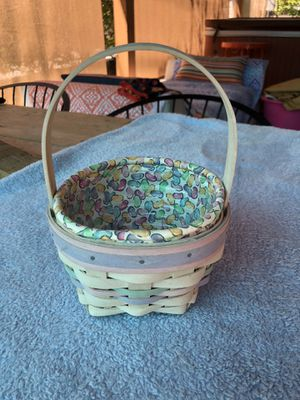 Longaberger Easter Basket 2000 for Sale in Glendale, CA