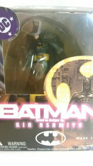 """Batman Based on Design by Kia Asamiya - """"Batman Action Figure"""" ( Special Poster inside ) for Sale in North Providence, RI"""