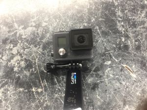 Go pro hero plus with adapter and selfie stick for Sale in Chevy Chase, DC
