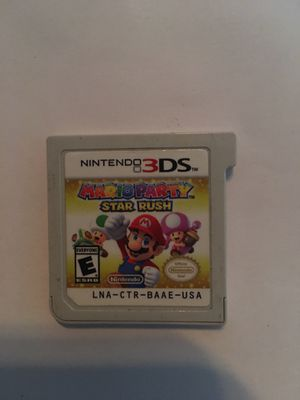 Nintendo 3ds Mario party star rush for Sale in Visalia, CA