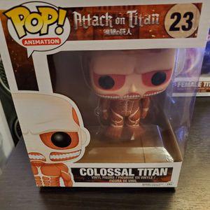 Colossal Titan Funko Pop for Sale in Santa Ana, CA