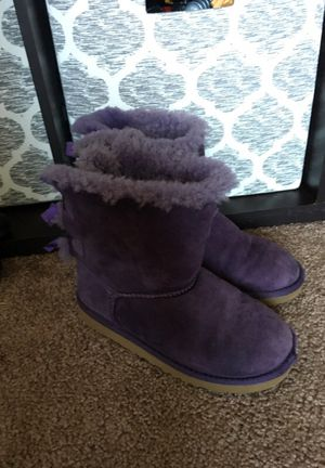 Purple UGG boots size 3 for Sale in San Diego, CA