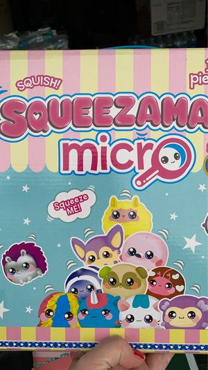 Beverly Hills Teddy Bear Squeezamals Micro Series 3 Squish 11 Piece Set Scented for Sale in Fairfield, CA