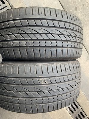 (2)295-40-21 PAIR OF USED TIRES CONTINENTALS for Sale in Los Angeles, CA