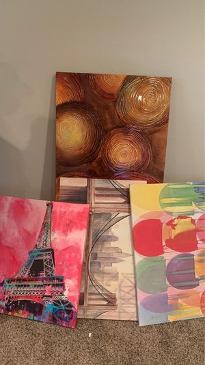 Bundle of artwork for Sale in Kissimmee, FL