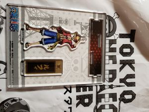 ONE PIECE ANIME - LUFFY FIGPIN / KEYCHAIN for Sale in Oceanside, CA