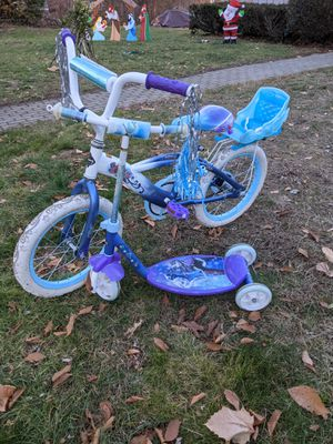 Free: Frozen bike and scooter for Sale in Framingham, MA