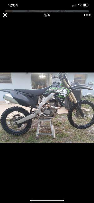 2011 Kawasaki kx250f for Sale in Orlando, FL
