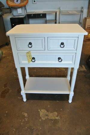 Convenience Concepts Entry Way Console / Hall Table in White for Sale in Mesa, AZ