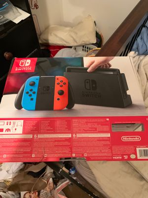 NINTENDO SWITCH BOX ONLY for Sale in Houston, TX