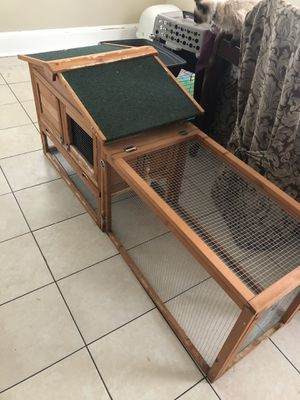 Rabbit Hutch with accessories for Sale in Everett, MA