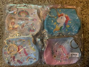Girl bag coin purse unicorn for Sale in Riverview, FL