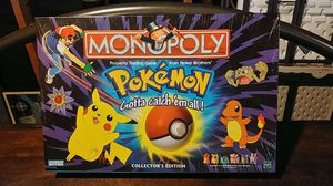 Classic Pokemon Monopoly from 1999 - New In Box for Sale in Beaverton, OR