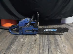 Blue max chainsaw for Sale in Weston, MO