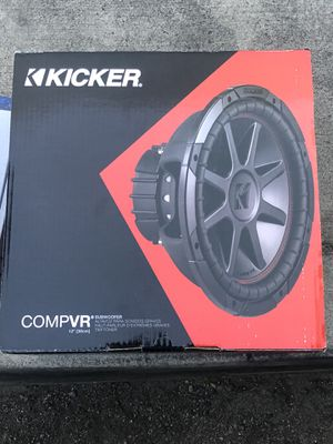BRAND NEW COMPVR 12 inch SUBWOOFERS for Sale in Fontana, CA