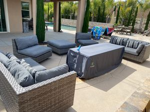 Outdoor wicker patio furniture for Sale in San Diego, CA