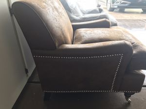 Brand new Safavids brushed suede chairs size 29.33 for Sale in Henderson, NV
