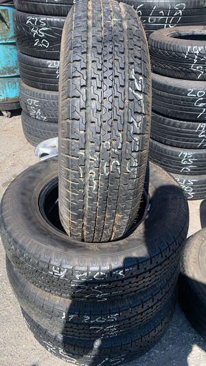 ST205/75R15. 4 used tire for trailer for Sale in Stockton, CA