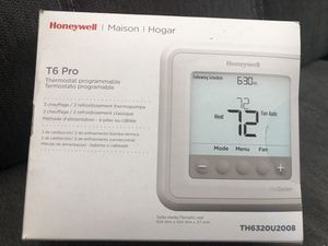 Brand New Honeywell T6 Pro Programmable Thermostat for Sale in Wilmington, MA
