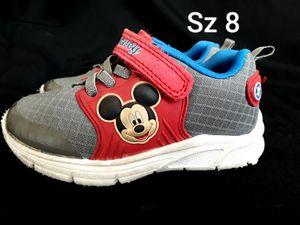 Disney Mickey Mouse Boys Sneakers Shoes Size 8 for Sale in Phoenix, AZ