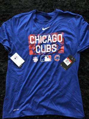 New Chicago Cubs Tee Nike Dri-Fit Baseball for Sale in Chicago, IL