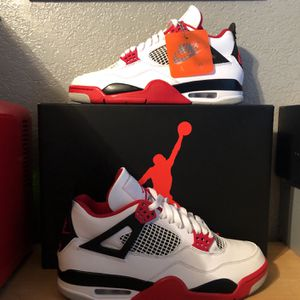 Air Jordan 4 Fire Red Size 8.5 Worn Once for Sale in Stockton, CA