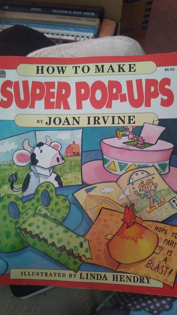Super pop-up book