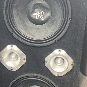 2.....10 inch BR.. 10 inch PB With amp for Sale in Philadelphia, PA