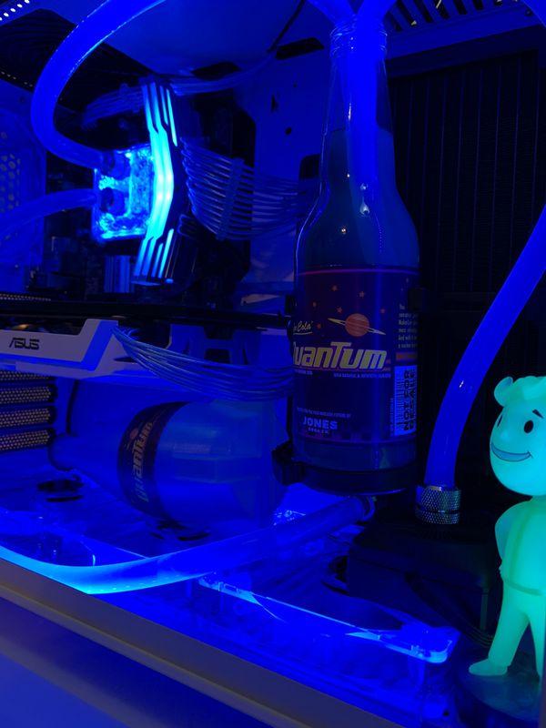 Fallout Nuka Cola Quantum Intel gaming pc
