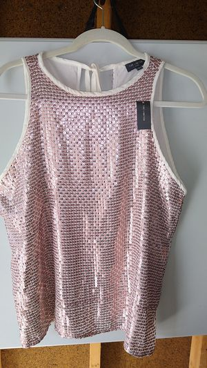 THE LIMITED PETITE ROSE GOLD SEQUIN TANK for Sale in Dublin, OH
