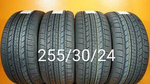 4 New tires 255/30/24. Llantas nuevas for Sale in Chula Vista, CA