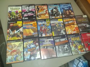 All PS2 and Wii games for $18 for Sale in Hesperia, CA