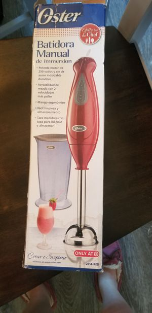 Oster Hand Blender for Sale in Clovis, CA