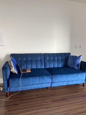 Velvet luxury sofa for Sale in West Hollywood, CA