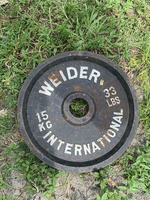 Gym weights for Sale in Opa-locka, FL