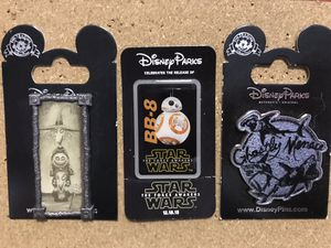 Disney Pins $5 Each for Sale in Sunnyvale, CA