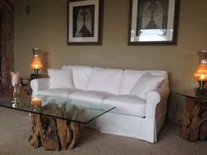 White slip cover couches for Sale in Federal Way, WA