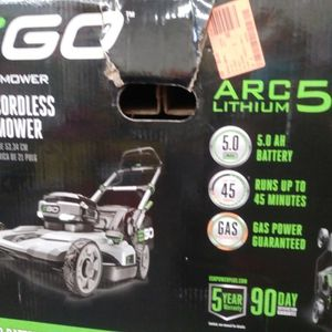 """EGO. Power + MOWER 21"""" CORDLESS MOWER. ARC LITHIUM. 56V for Sale in Fontana, CA"""
